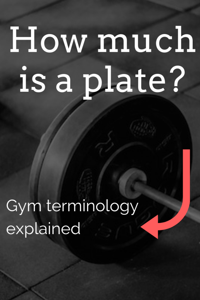 How much is a plate? (Gym & lifting terminology explained)
