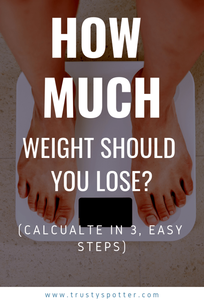How much weight should I lose? (Easy, 3-step calculation)