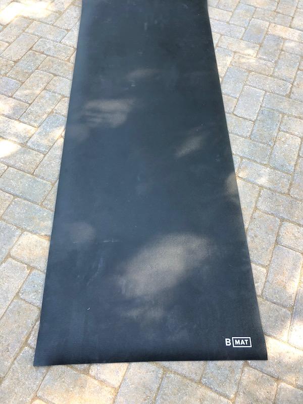 B yoga mat dimensions