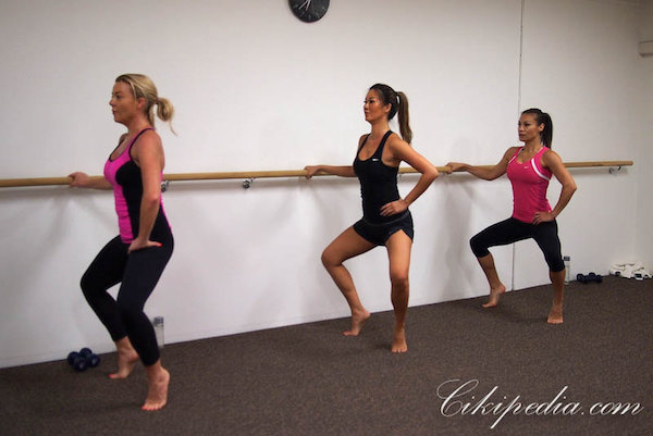 Free barre workout plan