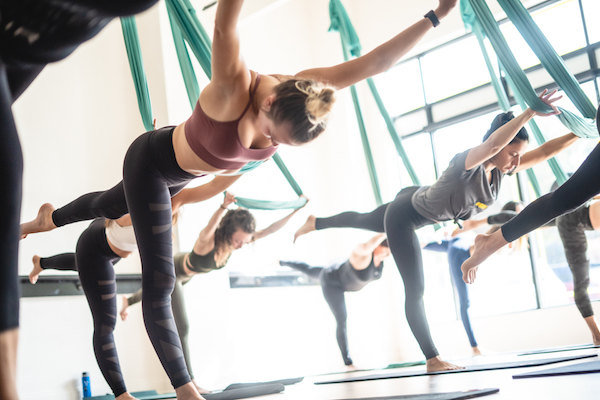 Aerial fitness in Charlotte