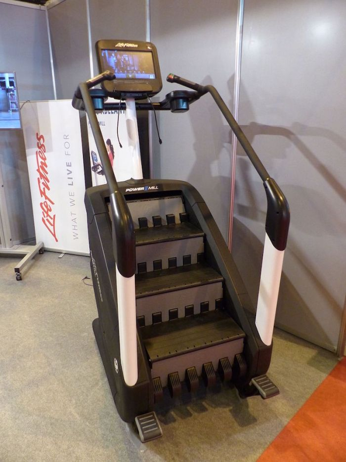 A StairMaster stair stepper machine