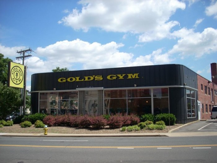 A Gold's Gym location