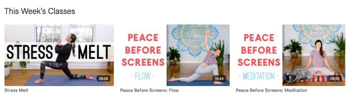 Find What Feels Good screenshot Yoga with Adriene