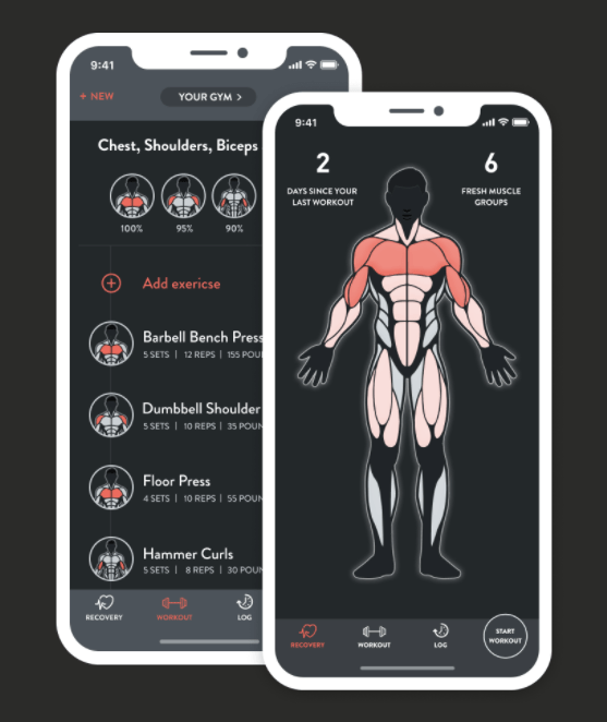 FitBod app screenshot