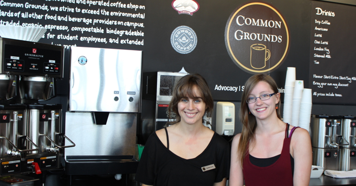 Work at Common Grounds