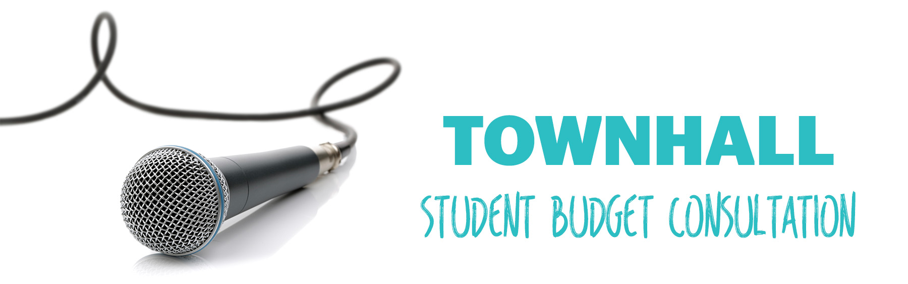 Student Budget Consultation Town Hall