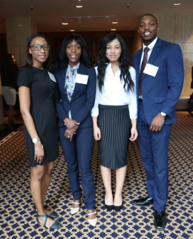 """ Not only was the conference educational and taught us about what we wanted to do in a practical way it allowed for us to have a safe space to discuss issues that we face as black law students and to basically create a support group with other law students from across the country."""