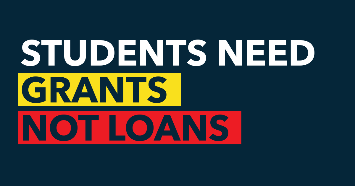 Grant Not Loans