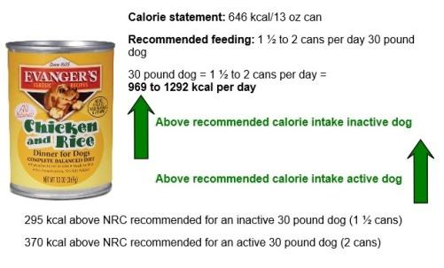 Evangers Chicken Rice dog food
