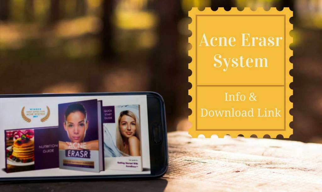 Acne Erasr System pdf e book download image.