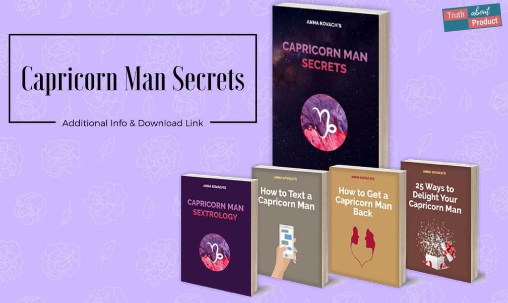 Anna Kovach's Capricorn Man Secrets featured image.