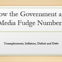 How they lie to you about the economy - inflation, unemployment, deficit & debt