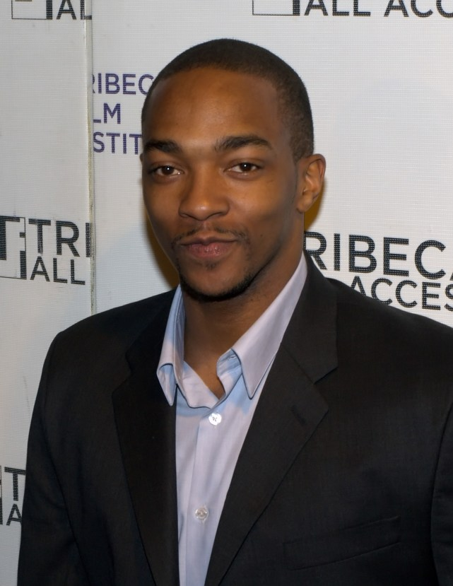 "Anthony Mackie. Actor, writer, producer. ""Hurt Locker,"" ""Avengers."""