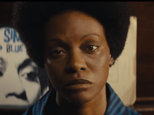Nina Simone fans object to Zoë Saldana being cast with makeup to darken her skin and a prosthetic nose.