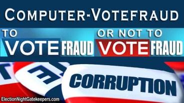 computer voter fraud