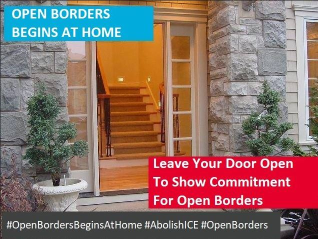 open borders begins at home