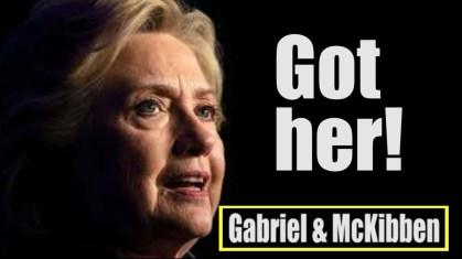 Hillary got her