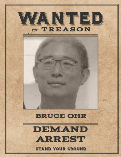 Wanted Bruce Ohr