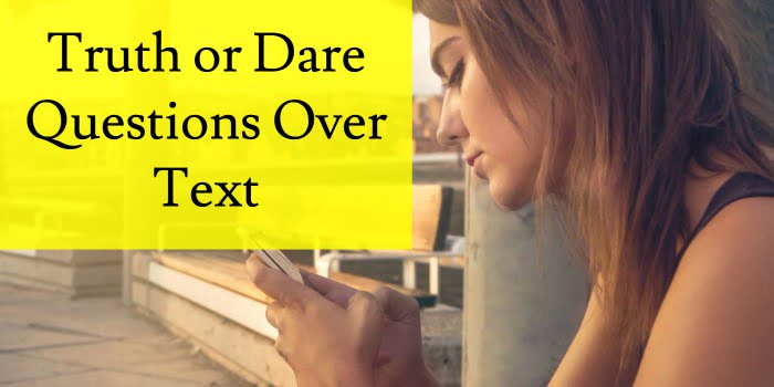 Dirty dares over text with a girl