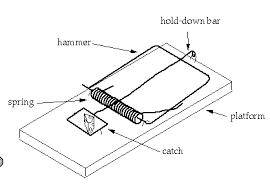 Parts of a mousetrap