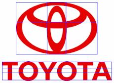 fibonaci Toyota design