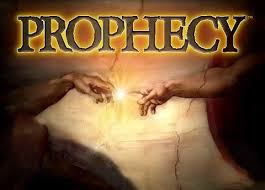 prophecy with God and human hands