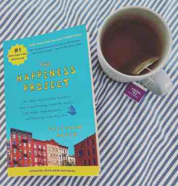 Happiness book - The Happiness Project - Gretchen Rubin