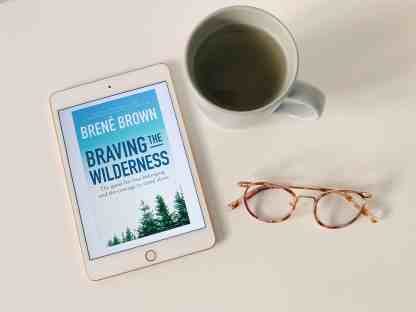 Happiness Books - Brene Brown - Braving The Wilderness