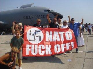 Nato fuck off Batajnica 2012