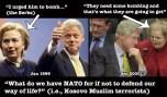 Bill and Hillary Clinton Jan 1999