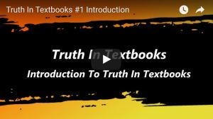 Lt Col (ret) Roy White provides an overview of Truth in Textbooks