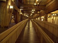 Ramp inside The Ark Encounter