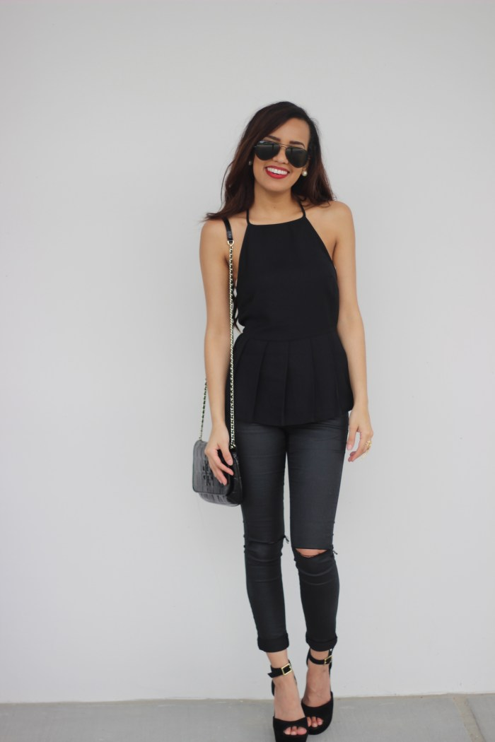 All black look | Truth or Flares
