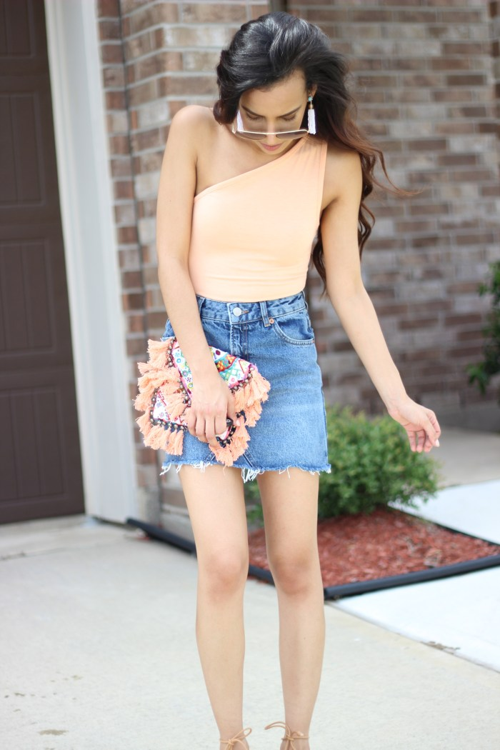 Denim Skirt