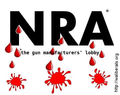 NRA drips blood