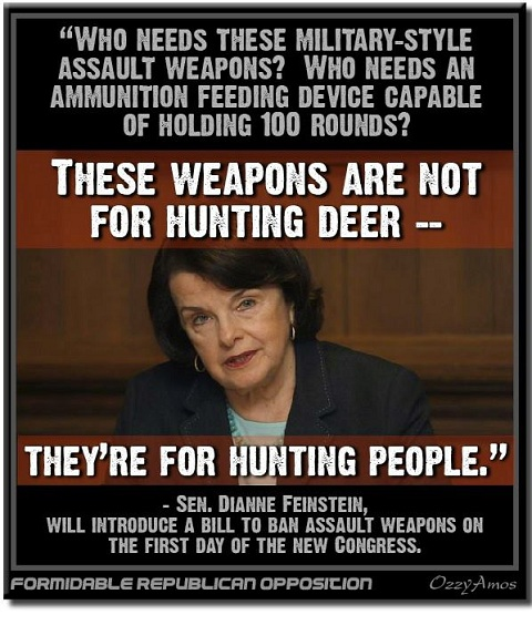Who needs assault weapons?