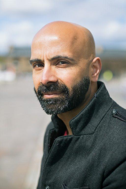 Portrait photograph of Guardian journalist Haroon Siddique