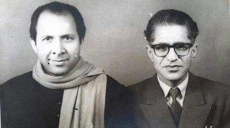 Ahmad Nadeem Qasmi with Qateel shifai