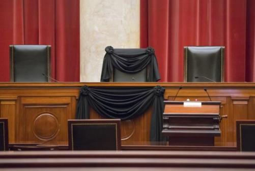 supreme-court-draped-black