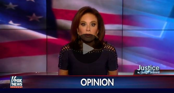 'GET A GUN': Judge Jeanine Urges Americans To Protect Themselves After Orlando (Video)