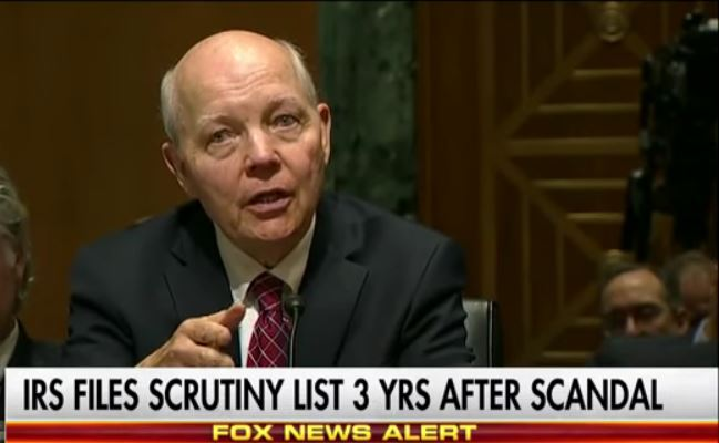 IRS Releases List Of Hundreds Of Groups Targeted In Audit Scandal – 3 Years Later (Video)