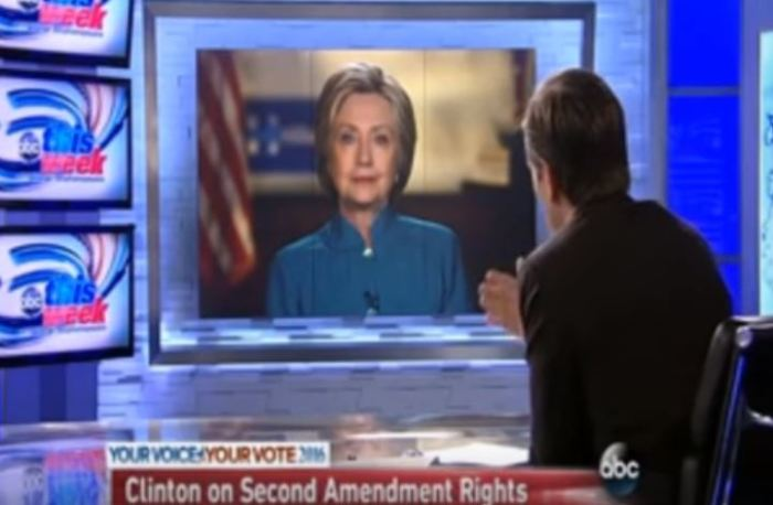 Hillary Clinton: The Government Has 'A Right' To Regulate The 2nd Amendment (Video)