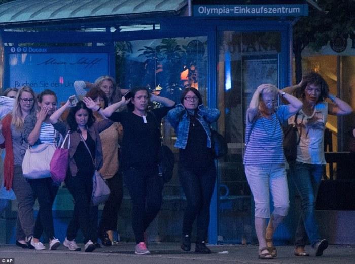 He's Killing The Kids: Gunmen Shouting 'Allahu Akbar' Opened Fire At Children In Munich McDonald's  (Video)