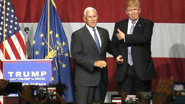 Donald Trump Announces Mike Pence As His Vice Presidential Running Mate