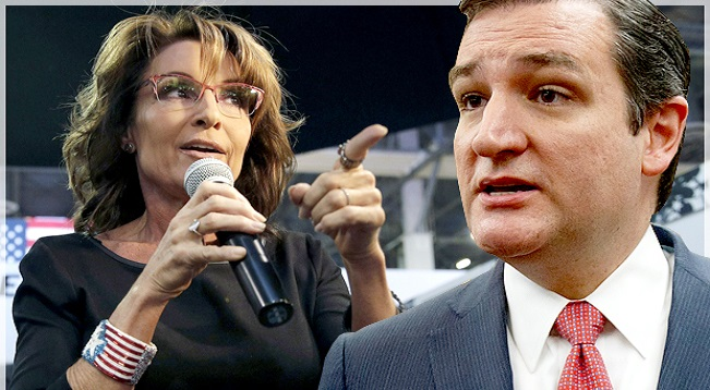 Sarah Palin To Ted Cruz: 'Delete Your Career!' (Video)