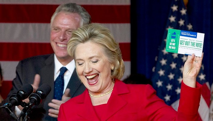 Hillary Loses 206,000 Votes: Virginia Supreme Court Kills McAuliffe's Felon-Voting Scheme