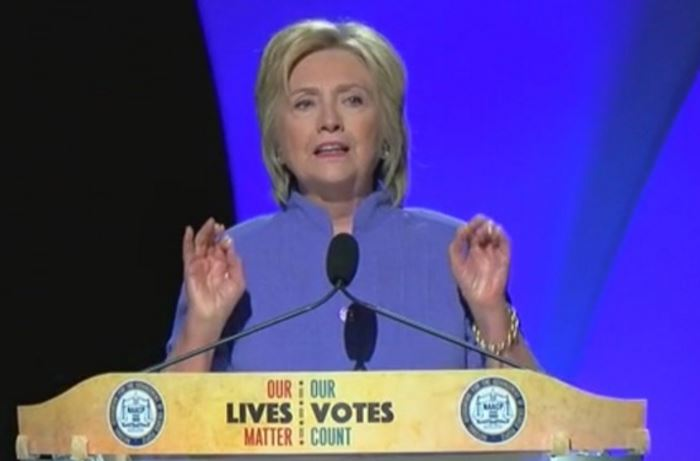 Hillary: 'White Americans Need To Do A Better Job Recognizing Their Privilege' (Video)