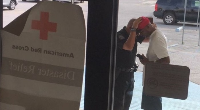 Louisiana Police Officer Says Red Cross Told Him To STOP PRAYING With Flood Victims (Video)