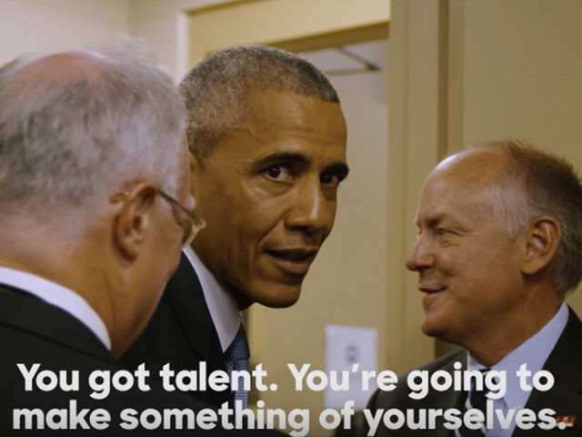 WATCH: President Obama Gets Pumped Up For DNC With Eminem's 'Lose Yourself (Video)